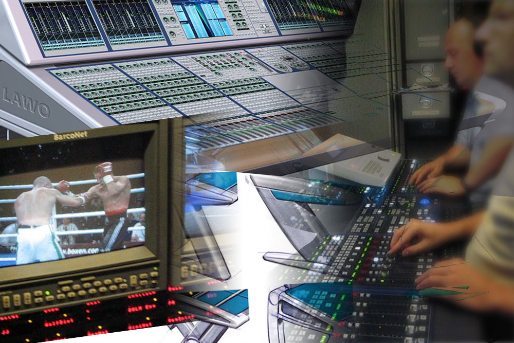 Walk into the media business by development of the design for mixer consoles for Lawo