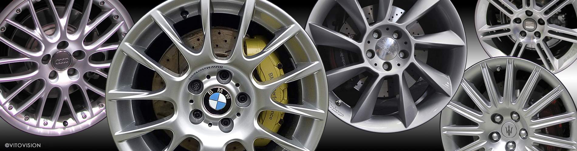 Wheel design from Vitovision for Audi, BMW, Seat, Maserati and other automotive manufacturer