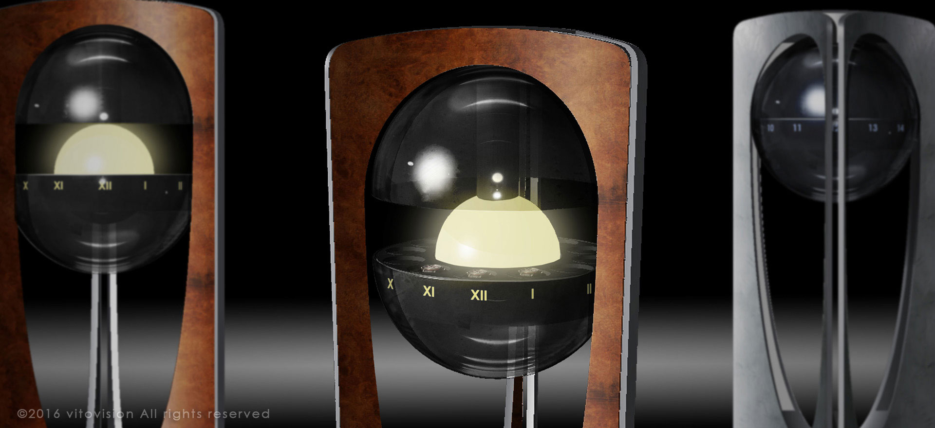 Watchwinder design concept from vitovision