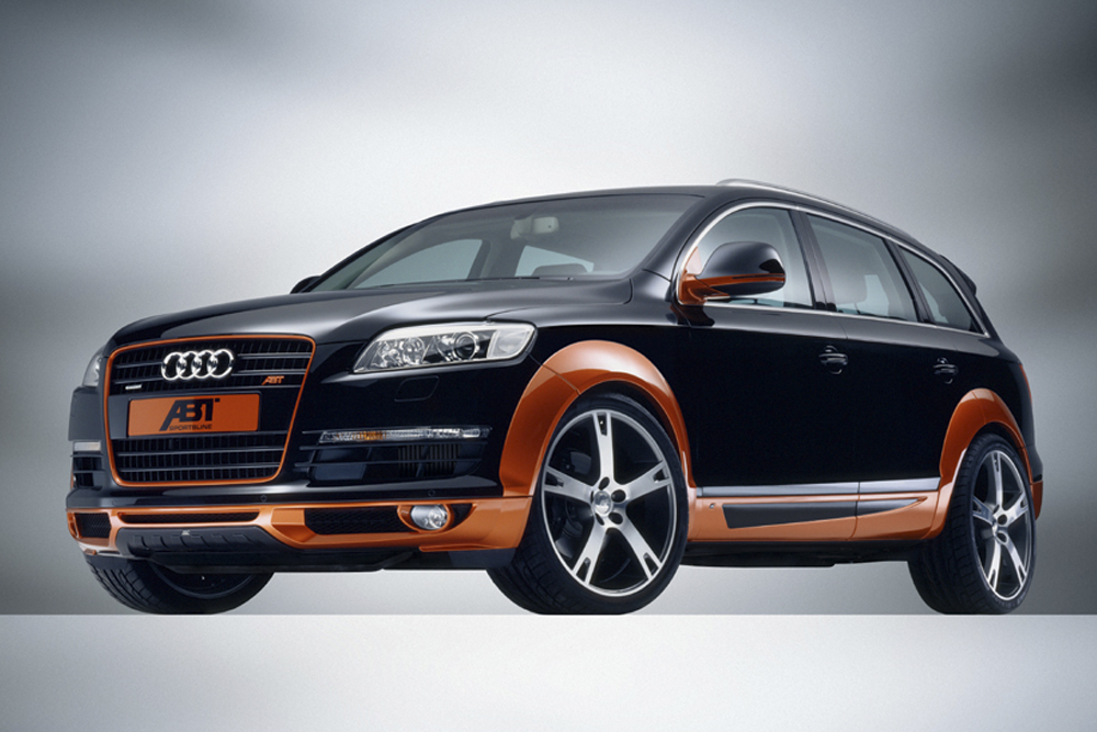 Automotive Design for the Audi Q5 tuned by ABT
