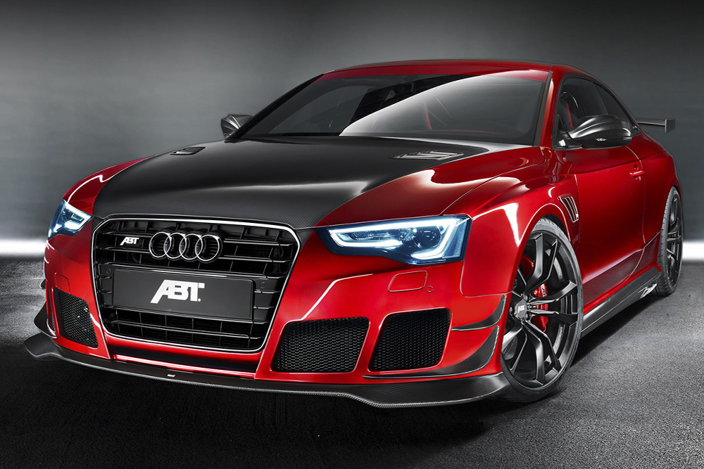 The Audi TT of ABT with the atomotive design of Vitovision