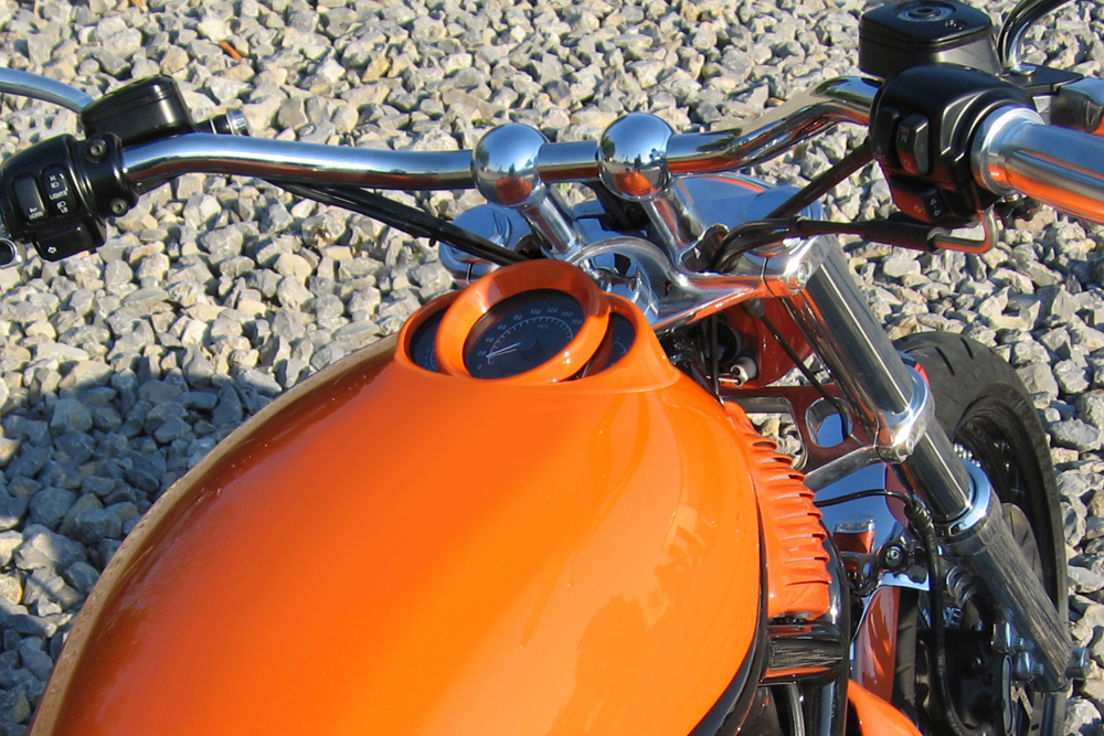 Automotive Design for motorcycle tanks