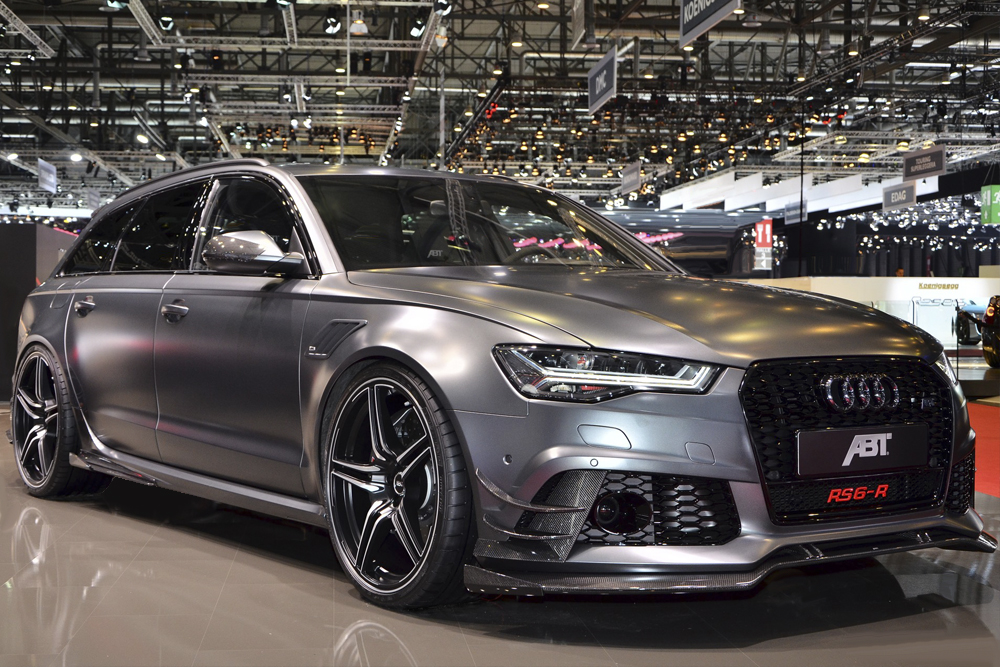 Automotive Design for the Audi RS6 from ABT Sportsline
