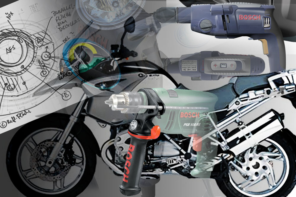 Design and development for automative oem such as BMW motorcycles, Porsche headlights and Robert Bosch GmbH