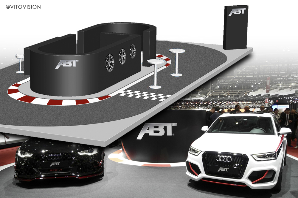 Industrial Design for Audi and ABT