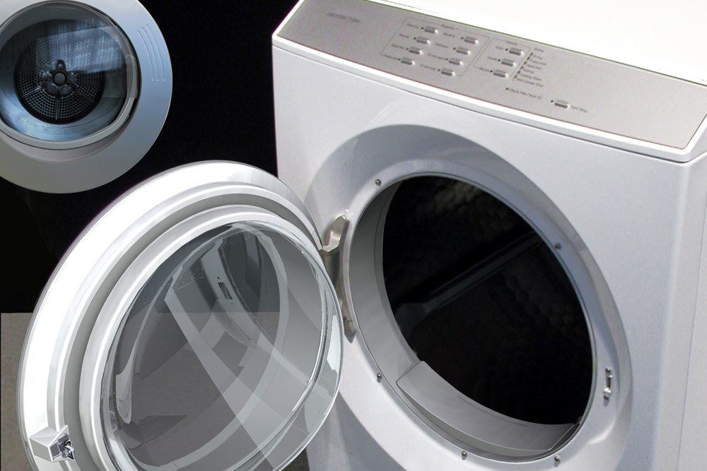 Industrial Design from Vitovision for washing machines