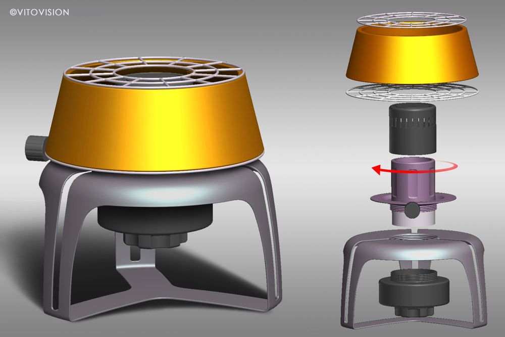 Industrial Design for cooker and stoves