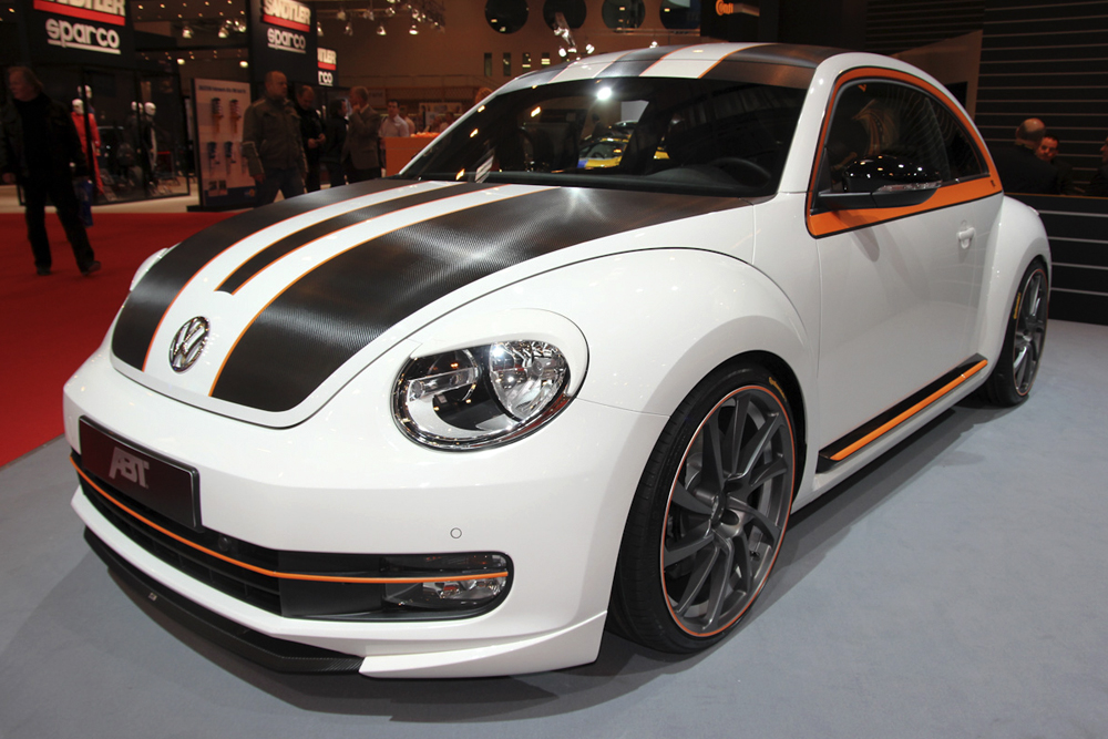 Automotive Design for the VW Käfer tuned by ABT Sportsline