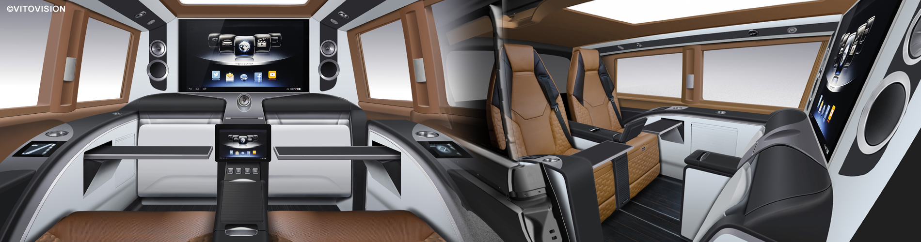 Challenging interior design for the automotive and transportation sector from Vitovision